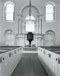 118N: Interior, Old South Meetinghouse