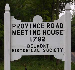 Province Road Meeting House