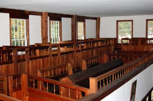 Singing Pews, Fremont Meetinghouse
