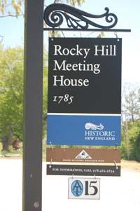 Rocky Hill Sign